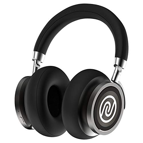 Noise Defy Over Ear Bluetooth Headphones with Active Noise Cancellation, Upto 30 Hour Playback, 40mm Dynamic Drivers (Onyx Black)