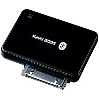 サンワサプライ Bluetooth iPodオーディオアダプタ MM-BTAD10BK
