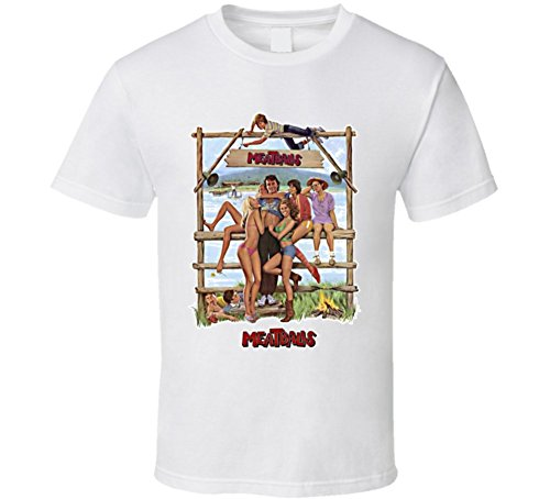 Bill Murray Meatballs 80s Movie T Shirt XL White