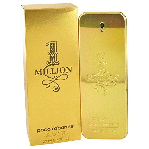 Price comparison product image 1 Million by Paco Rabanne Eau De Toilette Spray 6.7 oz (Men)