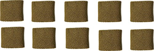Fire Force 1' Wide Elastic Keepers Made in USA (Coyote Brown)