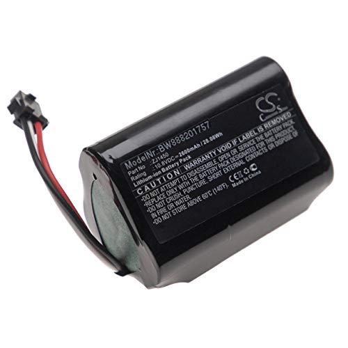 vhbw Batería Compatible con Ecovacs D36A, D36B, D36C, D36E, DA60, DA611, DB35 aspiradora, Robot de Limpieza (2600mAh, 10,8V)