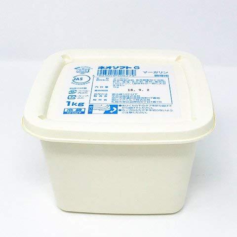 ネオソフトGマーガリン 1kg 【冷凍・冷蔵】 3個