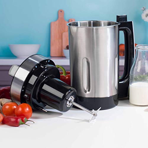 Beldray EK2613BGP-VDE Soup Maker Stainless Steel with Euro Plug 1.6 L Steel