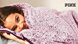 VICTORIA SECRET PALE PLUM SHERPA BLANKET - SOFT AND COZY - 50 X 60. THROW BLANKET