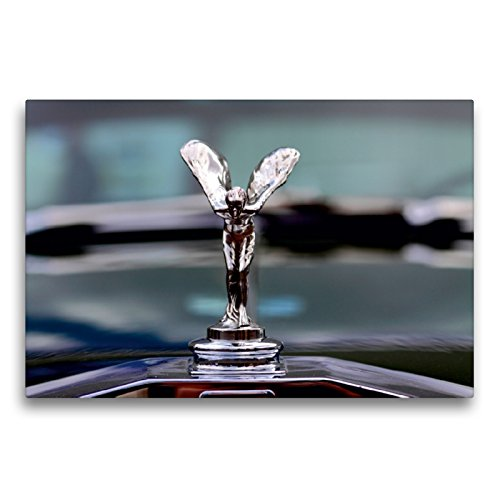 Premium Textil-Leinwand 75 x 50 cm Quer-Format Rolls Royce | Wandbild, HD-Bild auf Keilrahmen, Fertigbild auf hochwertigem Vlies, Leinwanddruck von Peter Schürholz
