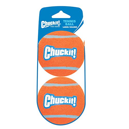 Chuckit! CH084021 Tennis Ball Large 2-er Pack