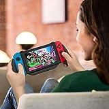 Lammcou Grippro Poignée Charging pour Nintendo Switch Joycon Coque Comfort Ergonomique Grip Case Switch Housse Étui Protection pour Crash Bandicoot Mario Zelda Pokémon PAW Patrol Smash Bros Minecraft
