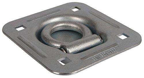 Kerbl 37603 Zurrmulde, 1135/2270 kg, 114 x 124 mm, verzinkt