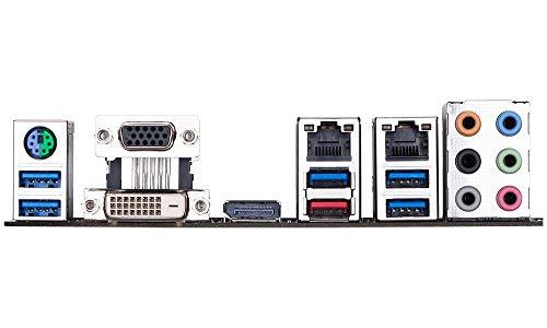 GIGABYTE C246M-WU4 (Intel/C246/Micro ATX/DDR4 unterstützt ECC/2xPCIEx16/Dual Intel Server GbE LAN/8xSATA3/2xM.2/USB 3.1 Type-A/Server Motherboard)