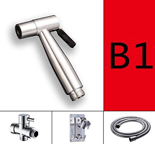 Toilettenhahn,Damen-waschmaschine Düse Tippen Flush Toilettenbegleiter Waschen Gott Hochspannung Booster Badezimmer B1