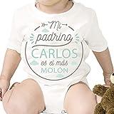 Regalo personalizado: body para bebé 'Padrino Molón' personalizado con...