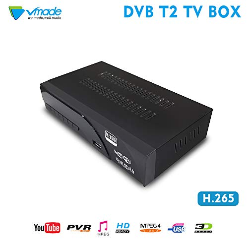 DVB-T/T2 Receiver, Full HD 1080P...
