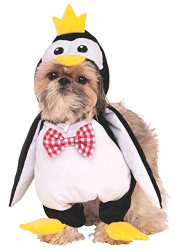 Rubie's Walking Penguin Pet Costume, Medium, White