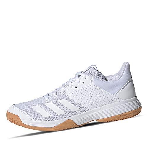 adidas Ligra 6, Zapatillas de vóleibol Mujer, Blanc Blanc Gomme, 42 EU