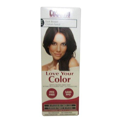 Love Your Color Hair Color Brown Dark 3 Oz