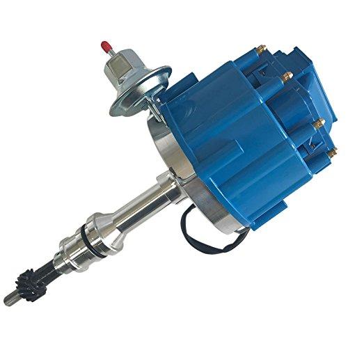 Motorhot HEI Lgnition Blue Cap Distributor 6 Bolt fit for ford 260 289 302 V8
