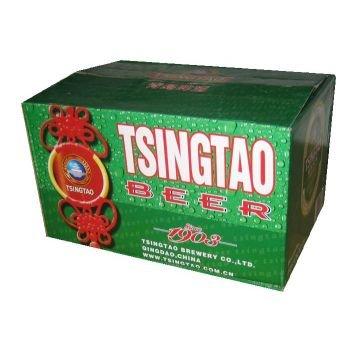Tsingtao Bier aus China - 24x330ml (1Karton) - asiafoodland Vorteilspaket