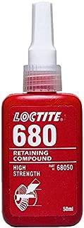 680 Retaining Compound, Slip Fit, High Strength, 50 ml Bottle