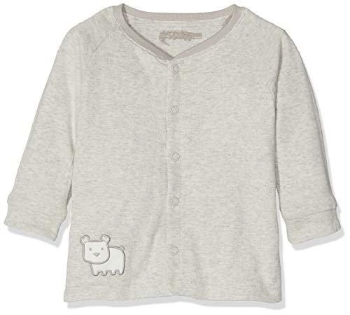 Sigikid Sigikid Unisex Baby Wendejacke, New Born Jacke, Grau (Grey Melange 96), (Herstellergröße: 50)