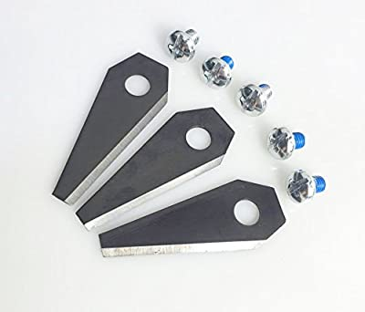1 / 5 / 10 pack of BOSCH INDEGO ROBOT LAWN MOWER REPLACEMENT BLADES robotic lawnmower (5)