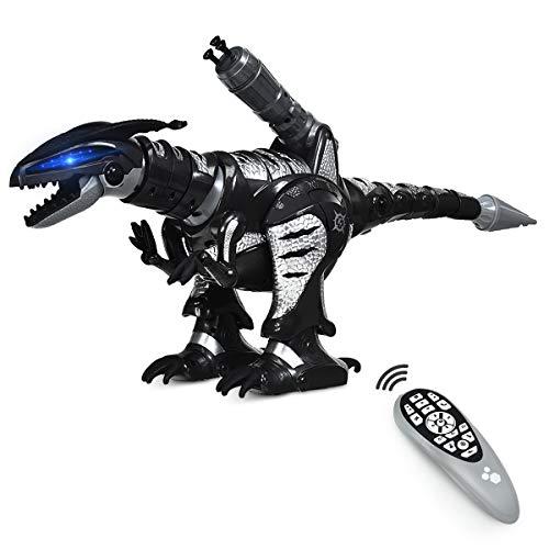 DREAMADE Ferngesteuerter Dino Roboter, Intelligenter Spielzeug Dinosaurier für...