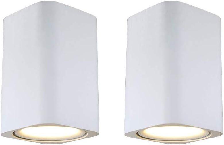 GYZLZZB Super outlet popular specialty store 2 Packs Downlight White LED Spotlig Black Ceiling Square