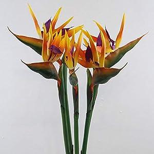 Artificial and Dried Flower Artificial Flower Bird of Paradise Fake Plant Silk Strelitzia Reginae Home Decor Artificial & Dried Flowers Hot