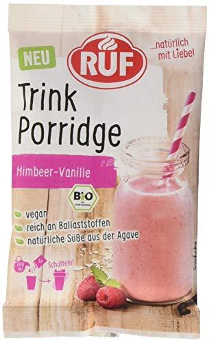 RUF Trink Porridge Himbeer-Vanille, 13er Pack (13 x 5 g)