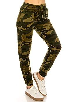 ALWAYS Women s Fleece Camo Jogger Pants - Premium Soft Winter Warm Sweatpants US S  Tag S/M or S