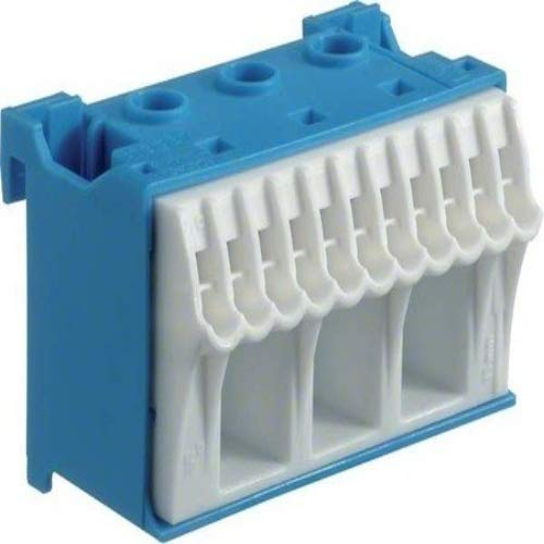 Hager QUICK CONNECT N-Klemmblock KN14N, Blau, Weiß