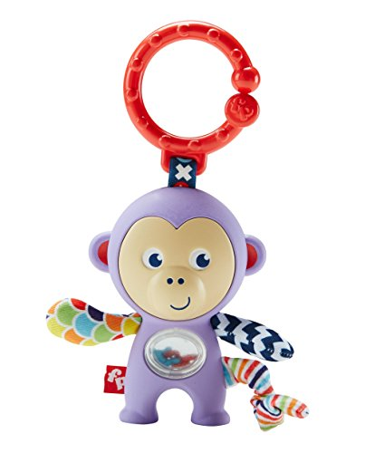 Fisher Price - Newborn Toys - Monkey Rattle