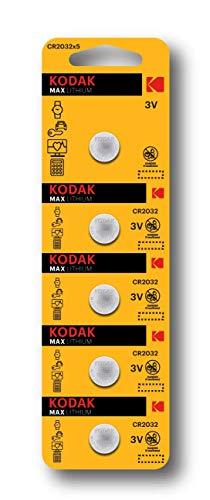 Kodak CR2032 Lithium 3V Battery Camera Button Cells (2 Cards...