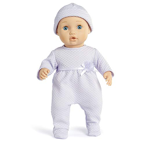 You & Me Baby So Sweet Purple Doll, 16 inches (05870731364466C)