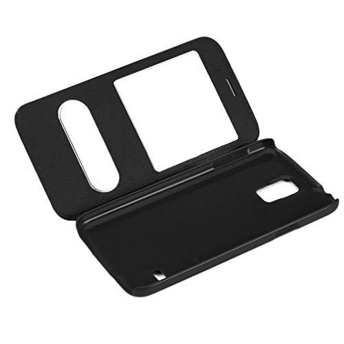 Cartera Fina con Tapa para teléfonos Tipo Tapa Adecuada para Samsung Galaxy S5, Uso Duradero, Azul Real
