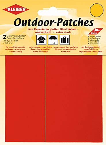 Kleiber + Co.GmbH Outdoor-Patches, rot