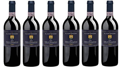 Bio Wein Rotwein Trocken Sangiovese Canaiolo Mammolo Italien Montepulciano 2015 Barrique Vino Nobile Cuvée Vegan Säurearm (6 x 0.75 l)