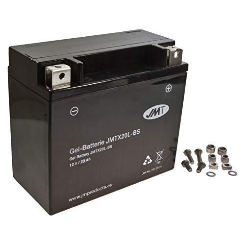 YTX20L-BS JMT Gel Batería para XLH 883 Sportster Hugger Año 1997-2003