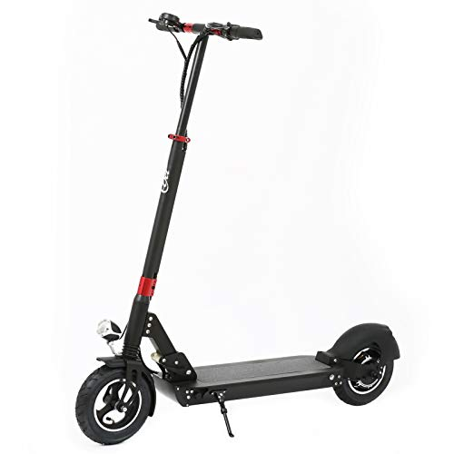 Electric Scooter for Adults Lightweight and Foldable E-Scooter Long-Range Battery Commuting Scooter with 500W Motor 10' Tires Max 15.5 mph Speed