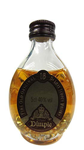 Dimple – Fine Old Deluxe Scotch Miniature – 15 year old Whisky