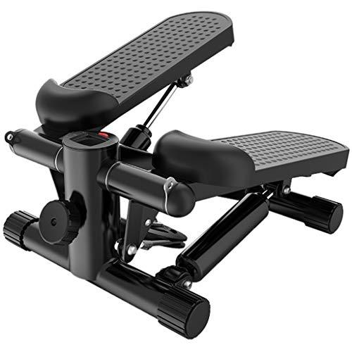 YUESFZ Stepper Crosstrainer Mini Stepper Haushaltsschlankheitsmaschine In-situ-Ofenrohrpedal Kleine Indoor-Mini-Klettermaschine Fitness Laufband (Color : Black, Size : 43 * 43 * 20cm)