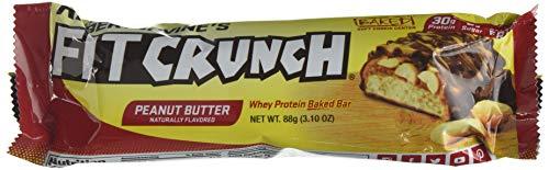 Chef Robert Irvine Fit Crunch 90 g Peanut Butter Bars - Pack of 12