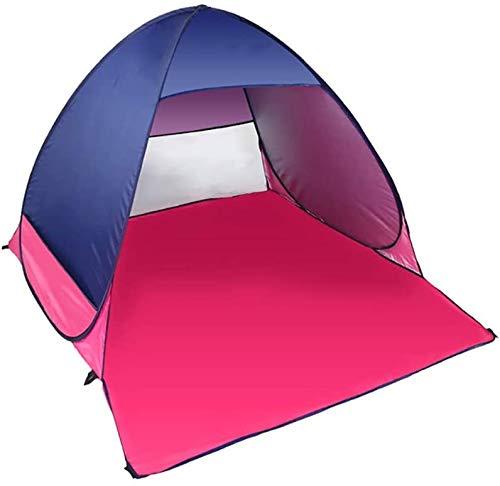 AQWESD Tente de Plage avec Installation Automatique et abri Solaire pour 2 Personnes 100% étanche Comprend Un Sac de Transport pour Les activités en Plein air