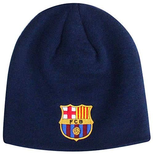 FC Barcelona Mütze mit offiziellem FC Barcelona-Wappen (100 % Acryl)