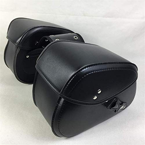 Pangocho JINchao- saddle bags motorcycles, Left Right Universal Motorcycle Saddlebag Tool Luggage Bags Saddle Bags Storage Tool Pouch 2PCS, Toolkit (Color Name : Black)
