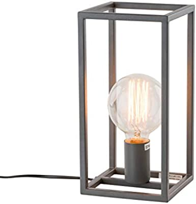 Vintage Tischlampe EDISON im Retro Stil Edison Lampe E27