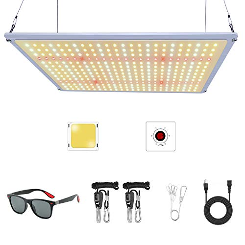 LAYOND Samsung LM301B 1500W LED Grow Light Full Spectrum Veg and Flower Indoor Plants Growing Lamp for Grow Tent Greenhouse and Hydroponics