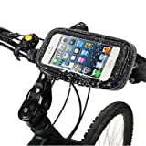 Theoutlettablet® SOPORTE BICICLETA RESISTENTE AGUA bike mount para Smartphone BQ Aquaris X5 , V , V PLUS Mod:G