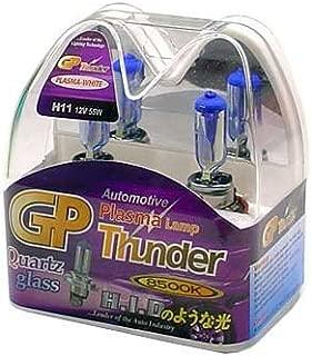 GP Thunder H11 8500K 55W Xenon Plasma White Quartz Glass Bulbs (Ion coating) for Fog Light - High Beam - Low Beam Acura Infiniti Nissan Ford Lexus Toyota BMW SGP85K-H11