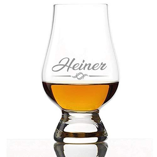 FORYOU24 Stölzle Lausitz Nosing-whiskyglas met gravure van de naam - The Glencairn Glass whiskeyglas gegraveerd cadeau-idee voor mannen